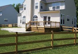 Post Rail Fence Custom Post Rail Fences Solutions By Long Fence