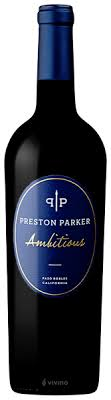 Preston Parker Ambitious | Wine Info