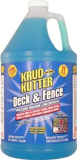 Krud Kutter Df01 Blue Pressure Washer Concentrate Deck And Fence Cleaner With Sweet Odor 1 Gallon Water B With Images Pressure Washer Best Pressure Washer Detergent Soap