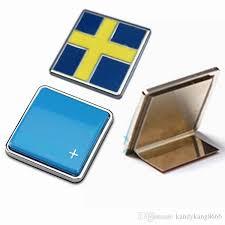 Chrome Metal Pole Bright Blue Star Sweden Flag Car Sticker Styling Car Grille Emblem For Volvo V40 S80 Xc60 S60 V60 Xc90 S40 Decorations Car Badges Uk Car Badging From Kandykang8666 6 07
