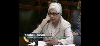 Ysabel Duron Speaks at California Assembly | The Latino Cancer Institute