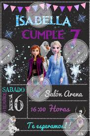 Invitacion Digital Personalizada Frozen 2 Https Www Facebook Com