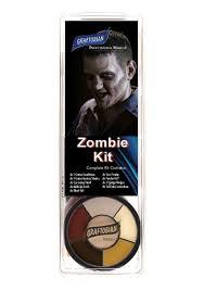 graftobian deluxe zombie make up kit