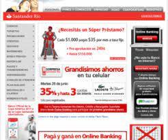 banco santander rio home banking