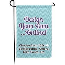 design your own garden flag single or