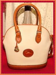 norfolk vintage dooney shoulder bag satchel