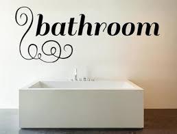 Bathroom Wall Decals Inspirational Wall Signs