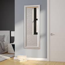 full length beveled wall mirror