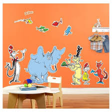 Dr Seuss Favorites Giant Wall Decal Target