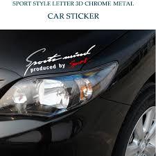 Car Sticker Emblem Badge Engine Hood Decal Auto Car Accessories For Ford Nissan Kia Car Stickers Aliexpress