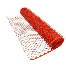 4 Ft X 100 Ft Orange Heavy Duty Diamond Grid Construction Snow Safety Barrier Fence Snow Fence Fence Prices Fence