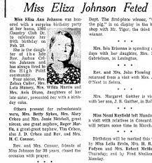 Eliza Ann Johnson - Newspapers.com