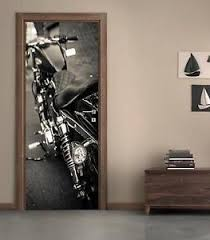 Harley Davidson Motorcycle Door Wrap Decal Wall Sticker Personalized Name D146 Ebay