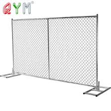 China Barricade Road Safety Fence Construction Temporary Chain Link Fence Panels China Road Barrier Crowd Control Barrier
