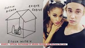 Terjemahan Lirik Lagu Stuck with you yang di nyanyikan oleh Justin Bieber dan Ariana Grande