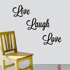 Shop Live Laugh Love Vinyl Wall Art Decal On Sale Overstock 7018238