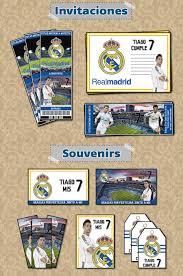Kit Imprimible Christiano Ronaldo Real Madrid Personalizado