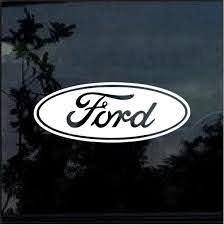 Ford Car Or Truck Window Decal Stickerwindow Decal Sticker Custom Sticker Shop