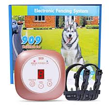 Dog Fence Invisible In Ground Fence System Electric Dog Fence Ipx8 Rechargeable Shock Collar Wireless Dog Fence Dog Fence Pet Containment Systems