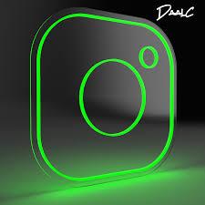 27+ Neon Instagram Logo Images