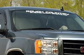 Rough Country Window Decal 35in Rough Country