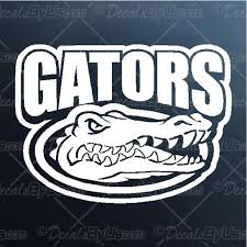 Gators Text Decal Gators Text Car Sticker Low Prices