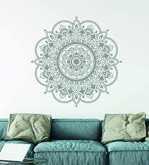 Amazon Com Mandala Wall Decal Mandala Art Prints For Wall Made In The Usa Handmade
