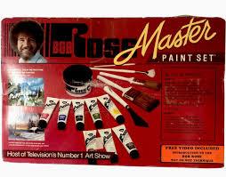 bob ross master oil paint set 8 oil
