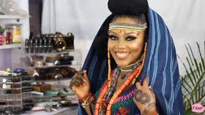 bridal makeup tutorial by faari by sisi ope