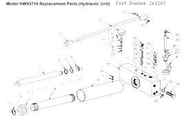 allied 2 ton floor jack diagram images