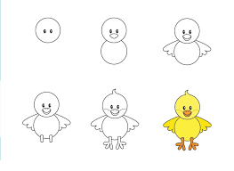 Những nét vẽ đầu đời – Bé vẽ con vịt – Bé tư duy