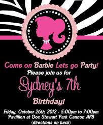 Barbie Silhouette Birthday Party Ideas Fiesta De Cumpleanos De