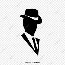 صورة ظلية لرجل مع قبعة مقنع الذكر خيال Png وملف Psd للتحميل مجانا