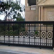 Decorative Wrought Iron Wire Mesh Fence And Gate Design
