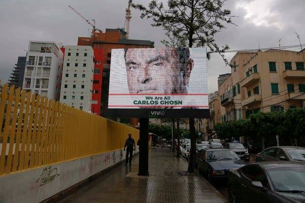 Image result for carlos ghosn lebanon