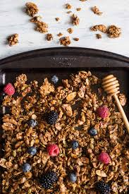 easy healthy granola recipe with oats