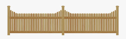 Wooden Fence Png Free Transparent Clipart Clipartkey