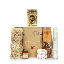 gift basket with italian