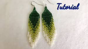 native american style earrings tutorial