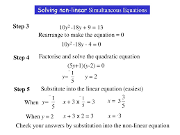 harder linear simultaneous equations