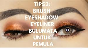 my tips makeup mata untuk pemula