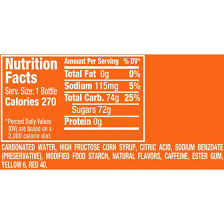 sunkist orange soda 20 fl oz bottle