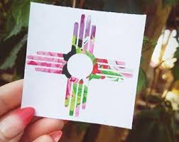 Zia Decal Etsy
