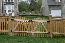 Creative Double Wood Fence Gate Wood Fence Gates Wood Fence Fence Gate