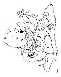 Kleurplaat Winnie The Pooh