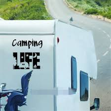 Amazon Com Wall Words Sayings Removable Lettering Camping Life Tent Sticker Motorhome Door Window Glass Decor Camper Decals Rv Travel Trailer Decoration Home Kitchen