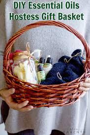 diy essential oil hostess gift basket