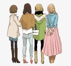 أربع بنات رقيم