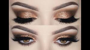 prom make up tutorial smokey eyes