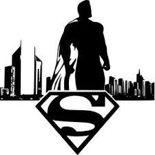 Oracal Superman Skyline Wall Car Window Marvel Comics Vinyl Sticker Decal 8